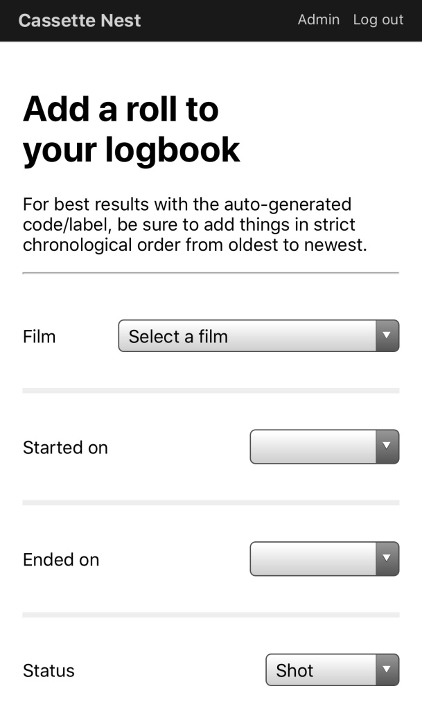 A screenshot of a form captured on a mobile device.